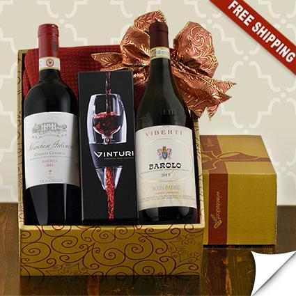 Antinori & Viberti Italian Red Wine Duo