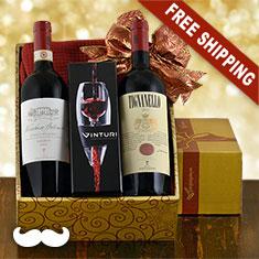 Antinori Tignanello & Marchese Antinori Fine Red Wine Duo