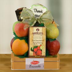 Appreciation Fruit & Cookie Gift Basket