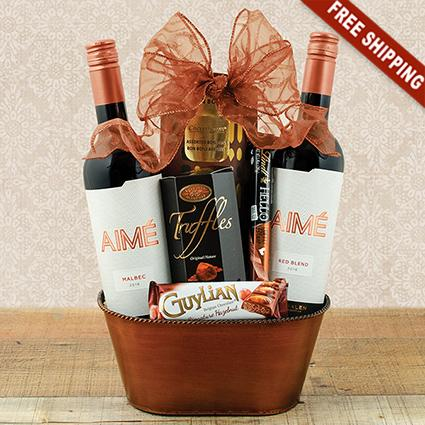 Argentinian Duo Wine Gift Basket