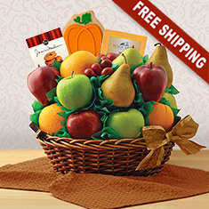 Autumn Garden Fresh Fruit Gift Basket