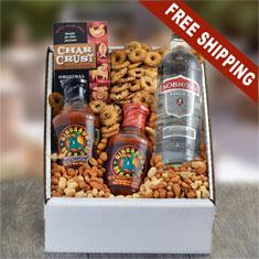 BBQ & Sobieski Vodka Gift Box