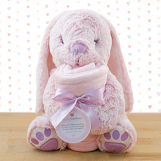 Baby's First Blanket & Bunny Gift Set