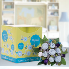 Baby Bunch Blue Clothing Large Bouquet Gift Set