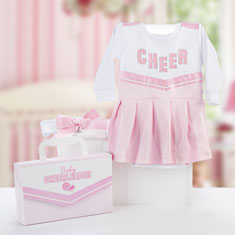 Baby Cheerleader Layette Set