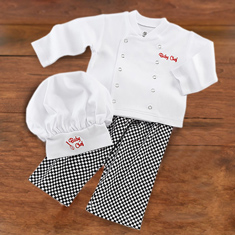 Baby Chef Layette Set