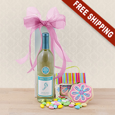 Barefoot Moscato & Gourmet Gift Basket