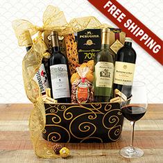 Bella Italia Vino Wine Gift Basket