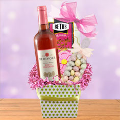 Beringer Blush Wine Gift Box
