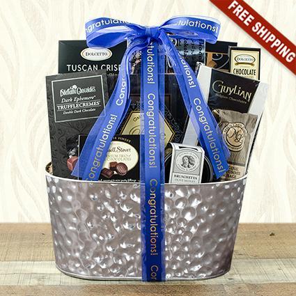 Best Wishes Gourmet Gift Basket