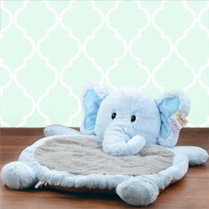Bestever Blue Elephant Baby Mat