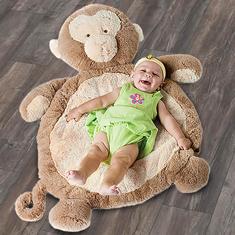 Bestever Monkey Baby Mat