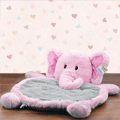Bestever Pink Elephant Baby Mat