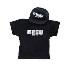 Big Brothers Rule Shirt & Cap Gift Set