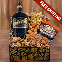 Black Bottle Craft Scotch Whiskey Gift Box