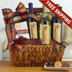 Blackstone Trio Wine Gift Basket