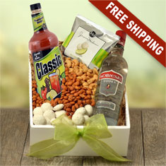 Bloody Mary & Sobieski Vodka Gift Box
