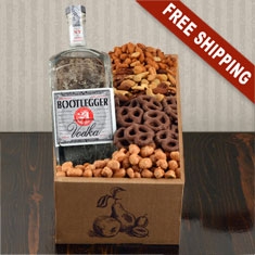 Bootlegger Vodka Gift Box