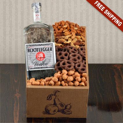 Bootlegger Vodka Gift Box