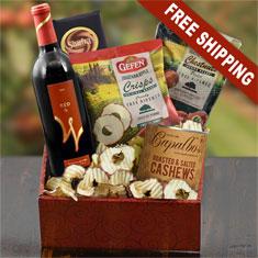 California Red Wine & Gourmet Gift Box