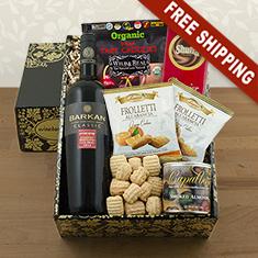 Cab Sauv & Gourmet Gift Box