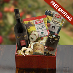 California Red Wine & Gourmet Gift Box