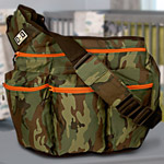 Camo Diaper Dude Dad Bag