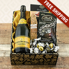 Champagne, Truffles & Chocolates Celebration Gift Box