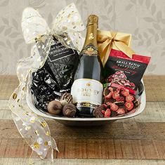 Champagne Elegance Gift Basket