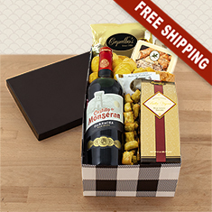 Class Act Red Wine Gift Box