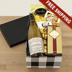 Class Act White Wine Gift Box