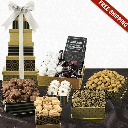 Classic 6-Box Snack Tower Gift Set