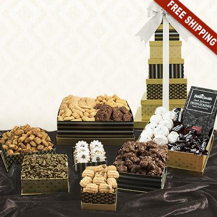 Classic 7-Box Snack Tower Gift Set