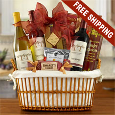 Columbia-Crest Trio Wine Gift Basket