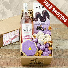 Congratulations Wine Gift Box