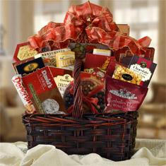Connoisseur Gourmet Gift Basket