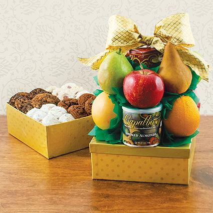 Cookies N' Fruit Gift