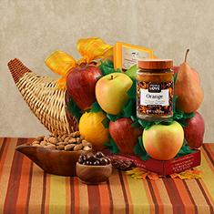 Cornucopia Fruit Gift Basket