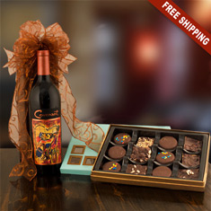 Covenant Cabernet & Chocolates Gift Box