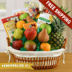 Cream of the Crop Fruit Gift Basket