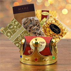 Crowning Touch Gourmet Gift Basket