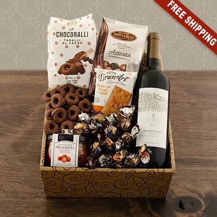 Cucina Italiana Wine Gift Box