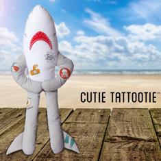 Cutie Tattootie Plush Shark