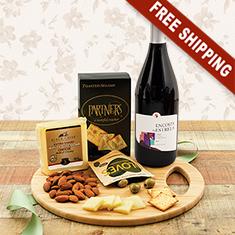 Cutting Edge Wine & Cheese Board