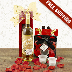 Days of Wine & Roses Gift Basket