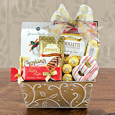 Deck The Halls Gourmet Gift Basket