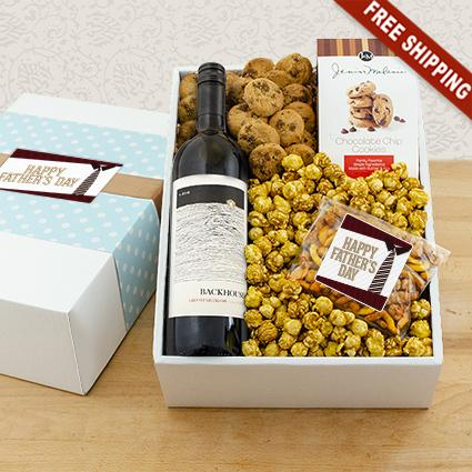 Deserving Dad Red Wine Gift Box