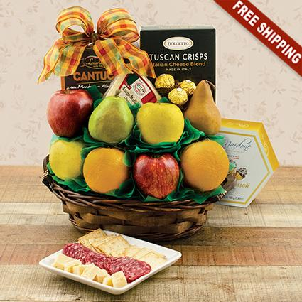 Dolce Vita Fruit Gift Basket