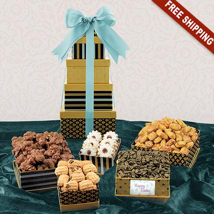 Easter 5-Box Snack Tower Gift Set