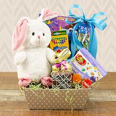 Easter Bunny Treats Gift Basket
